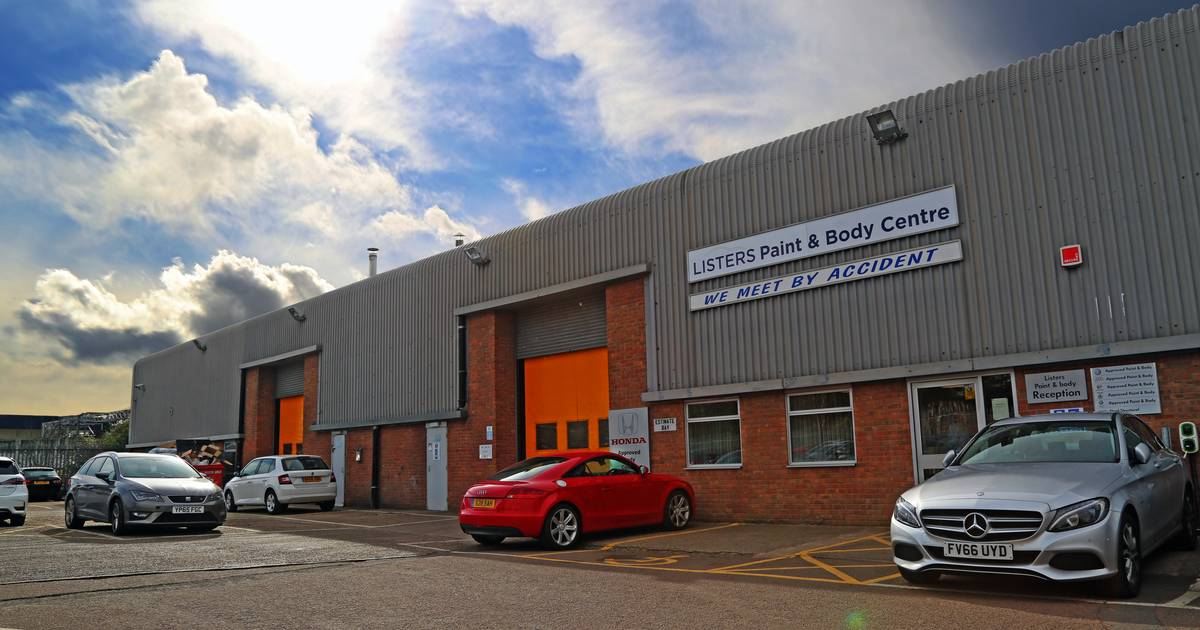Listers Paint Body Centre Coventry West Midlands