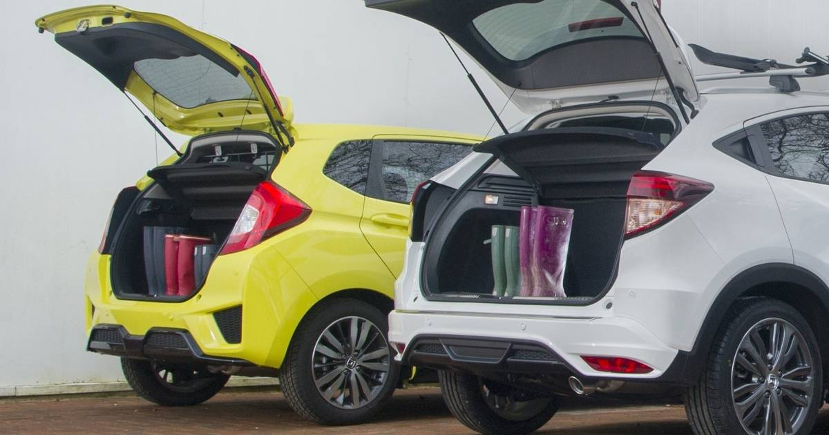 honda jazz civic hr v and cr v lead the way for boot space. Black Bedroom Furniture Sets. Home Design Ideas