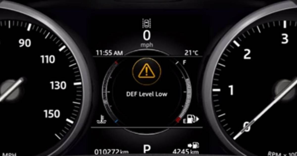 Land Rover Diesel Exhaust fluid/AdBlue - Listers Land Rover