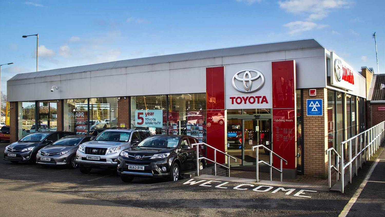 Listers Toyota Coventry Toyota Servicing Toyota Dealer - Toyota dealership hours