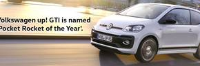 up! GTI wins BBC TopGear Magazine's 'Pocket Rocket of the Year'