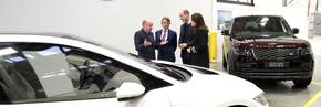 JLR in Solihull welcomes the Duke and Duchess of Cambridge