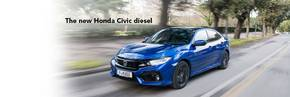 The new Honda Civic Diesel is now available to order.