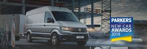 The award-winning Volkswagen Crafter Van