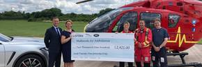 Listers JLR Family Fete raises £2,421 for Midlands Air Ambulance