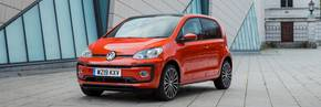 Volkswagen up! retains Auto Express Top City Car award