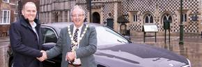 Green driving for King's Lynn Mayor
