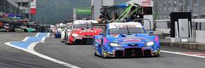 New Toyota GR Supra sweeps the top five places in Super GT.