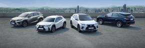 Lexus delivers its five-millionth SUV