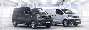 Toyota's Proace duo secures top honours.