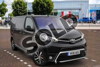 Toyota PROACE Medium Diesel 2.0D 120 Van in Storm Black at Listers Toyota Cheltenham