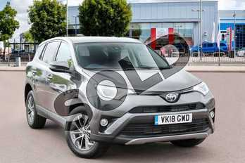 Toyota RAV4 2.5 VVT-i Hybrid Icon TSS 5dr CVT (Cloth) 2WD in Decuma Grey at Listers Toyota Cheltenham