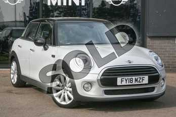 MINI Hatchback 1.5 Cooper 5dr in White Silver at Listers Boston (MINI)
