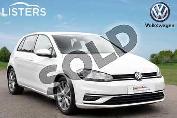 Volkswagen Golf Diesel 2.0 TDI GT 5dr in Pure White at Listers Volkswagen Coventry