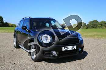 MINI Countryman Diesel 2.0 Cooper D 5dr in Midnight Black at Listers Boston (MINI)