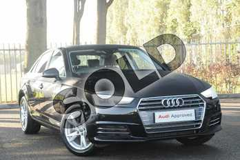 Audi A4 1.4T FSI Sport 4dr in Brilliant Black at Coventry Audi