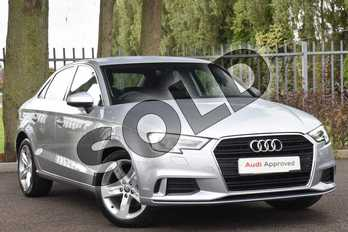 Audi A3 Diesel 2.0 TDI Sport 4dr S Tronic (7 Speed) in Floret Silver Metallic at Coventry Audi