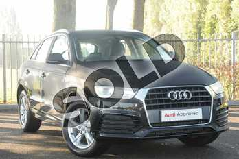 Audi Q3 Diesel 2.0 TDI Sport 5dr in Myth Black Metallic at Coventry Audi