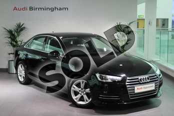 Audi A4 Diesel 2.0 TDI Ultra SE 4dr in Myth Black Metallic at Worcester Audi