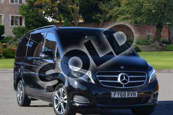 Mercedes-Benz V Class Diesel V220 d Sport 5dr Auto (Long) in obsidian black metallic at Mercedes-Benz of Lincoln