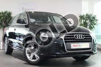 Audi Q3 Diesel 2.0 TDI Sport 5dr in Brilliant Black at Birmingham Audi