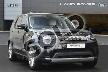 Land Rover Discovery Diesel SW 3.0 TD6 HSE Luxury 5dr Auto in Santorini Black at Listers Land Rover Droitwich