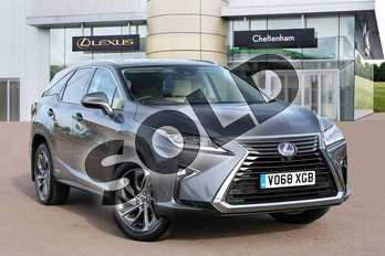 Lexus RX 450h L 3.5 Premier 5dr CVT (Sunroof) in Mercury Grey at Lexus Cheltenham