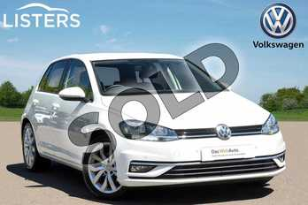 Volkswagen Golf 1.5 TSI EVO 150 GT 5dr in Pure White at Listers Volkswagen Leamington Spa