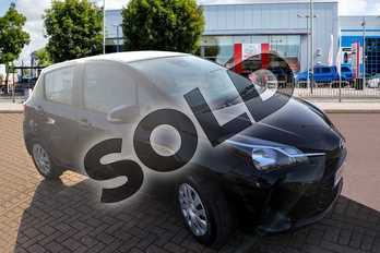 Toyota Yaris 1.0 VVT-i Active 5dr in Eclipse Black at Listers Toyota Cheltenham