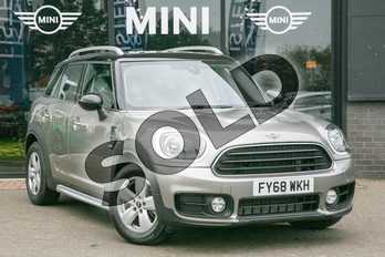 MINI Countryman 1.5 Cooper 5dr Auto (7 Speed) in Melting Silver at Listers Boston (MINI)