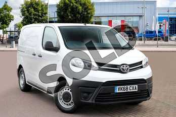 Toyota PROACE Compact Diesel 1.6D 95 Van in Vivid White at Listers Toyota Cheltenham
