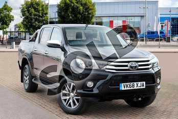 Toyota Hilux Diesel Invincible D/Cab Pick Up 2.4 D-4D in Galaxy Black at Listers Toyota Cheltenham