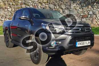 Toyota Hilux Diesel Invincible X D/Cab Pick Up 2.4 D-4D in Decuma Grey at Listers Toyota Cheltenham