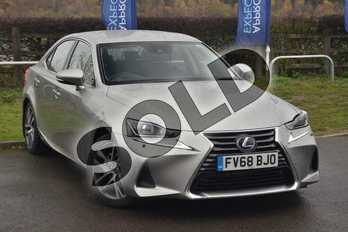 Lexus IS 300h Advance 4dr CVT Auto in Sonic Titanium at Lexus Lincoln