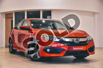 Honda Civic Diesel 1.6 i-DTEC SR 4dr in Rallye Red  at Listers Honda Northampton