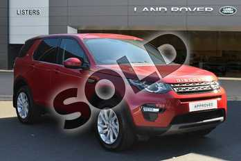 Land Rover Discovery Sport Diesel SW 2.0 TD4 180 SE Tech 5dr Auto (5 Seat) in Firenze Red at Listers Land Rover Droitwich