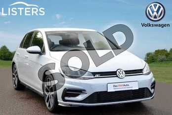 Volkswagen Golf 1.5 TSI EVO 150 R-Line 5dr in White Silver at Listers Volkswagen Coventry