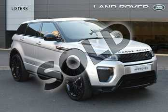 Range Rover Evoque Diesel 2.0 SD4 HSE Dynamic 5dr Auto in Indus Silver at Listers Land Rover Droitwich