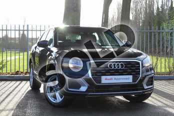 Audi Q2 30 TFSI Sport 5dr S Tronic in Myth Black Metallic at Coventry Audi