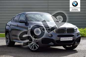 BMW X6 Diesel xDrive40d M Sport 5dr Step Auto in Space Grey at Listers Boston (BMW)