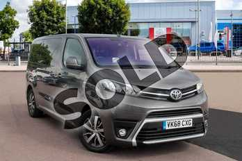 Toyota PROACE VERSO Diesel 2.0D 180 Family Medium 5dr Auto in Falcon Grey at Listers Toyota Cheltenham