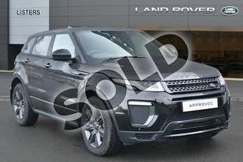 Range Rover Evoque Special Edition 2.0 TD4 Landmark 5dr in Santorini Black at Listers Land Rover Hereford