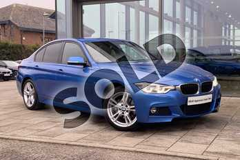 BMW 3 Series Diesel 320d xDrive M Sport 4dr Step Auto in Estoril Blue at Listers Boston (BMW)
