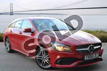 Mercedes-Benz CLA Class Shooting Brake CLA 200 AMG Line Edition 5dr Tip Auto in Jupiter Red at Mercedes-Benz of Hull