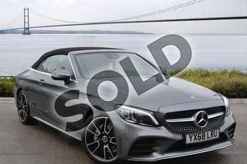 Mercedes-Benz C Class C200 AMG Line Premium 2dr 9G-Tronic in selenite grey metallic at Mercedes-Benz of Hull
