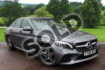 Mercedes-Benz C Class C200 AMG Line Premium 4dr 9G-Tronic in selenite grey metallic at Mercedes-Benz of Grimsby