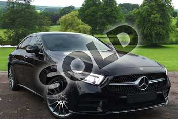 Mercedes-Benz CLS Diesel CLS 350d 4Matic AMG Line Premium + 4dr 9G-Tronic in obsidian black metallic at Mercedes-Benz of Grimsby