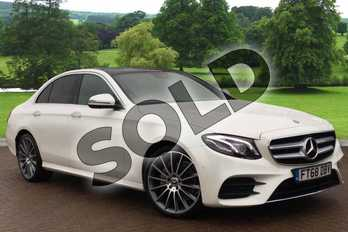Mercedes-Benz E Class Diesel E220d AMG Line Premium Plus 4dr 9G-Tronic in designo diamond white at Mercedes-Benz of Grimsby