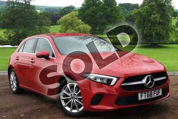 Mercedes-Benz A Class Diesel A180d Sport Executive 5dr Auto in Jupiter Red at Mercedes-Benz of Grimsby