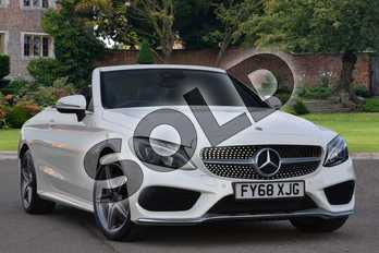 Mercedes-Benz C Class Diesel C250d AMG Line Premium Plus 2dr Auto in designo Diamond White Bright at Mercedes-Benz of Lincoln